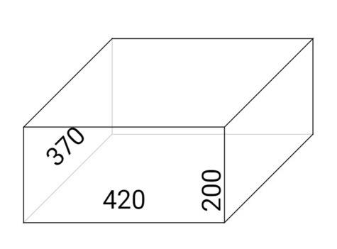 Sejf hotelowy TYTAN CLASIC MODERN370 schemat
