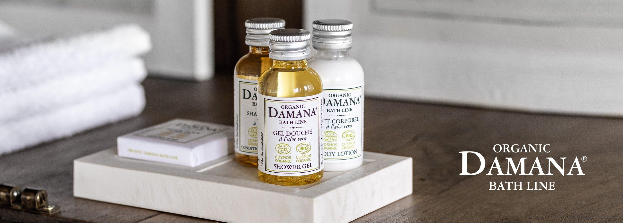 Damana Organic Bath Line
