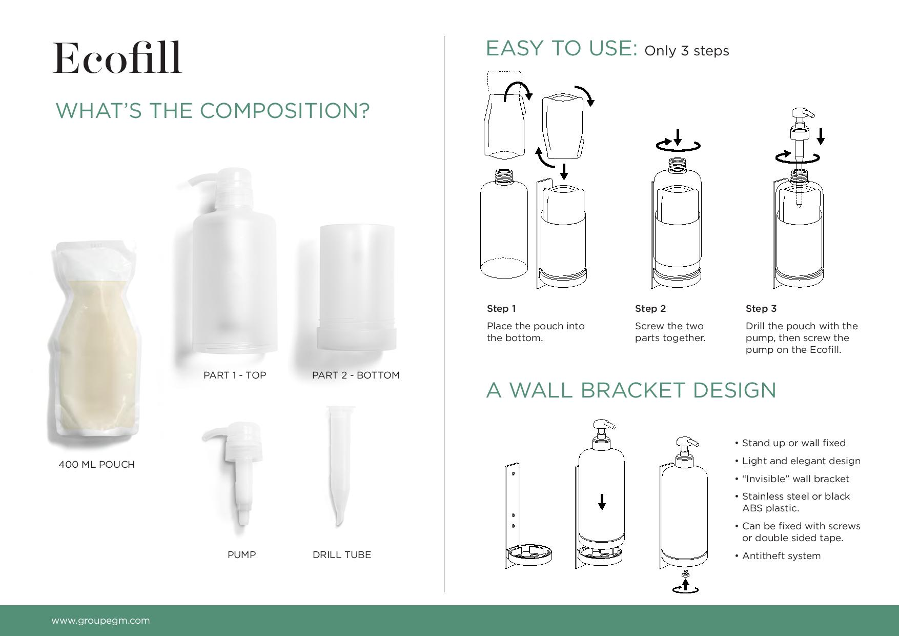 Ecofill instrukcja obsługi