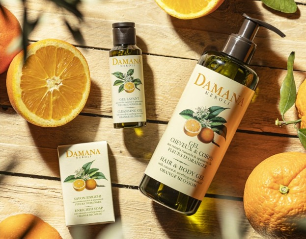 Linia kosmetyków Damana